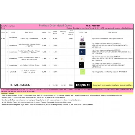The first and Best Korean Buying Service_Pinkbox