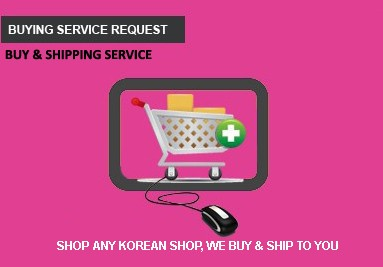 Buying Service form request pinkbox Korea